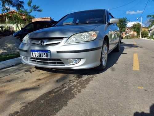Imagem 1 de 15 de Honda Civic 2005 1.7 Lxl Aut. 4p 130 Hp