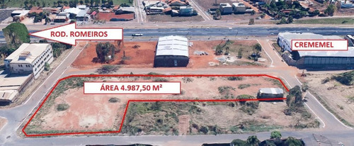 Imagem 1 de 4 de Área À Venda, 4987 M² Por R$ 2.500.000, No Jardim Petrópolis - Goiânia/go - Ar0045