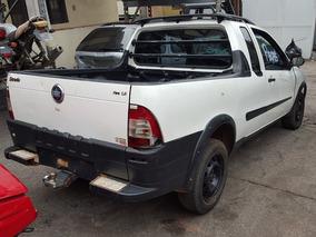 Sucata Para Peças Fiat Strada 1.4 Fire Ce 2007 - Zafaflex