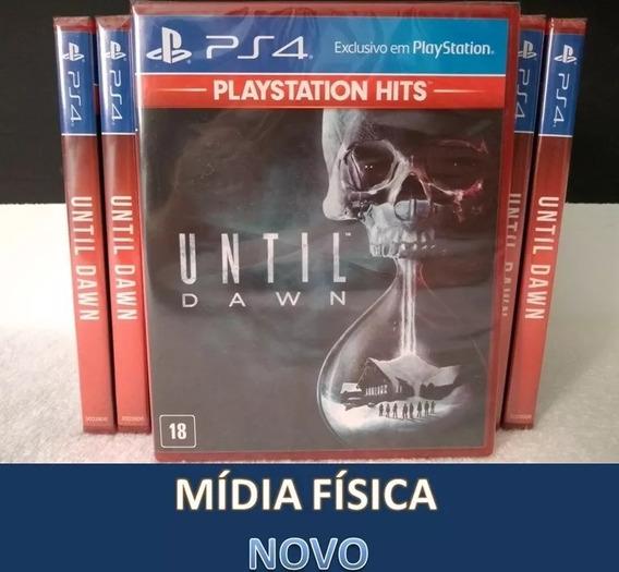 Until Dawn Ps4 Lacrado - Português - Mídia Física - Original