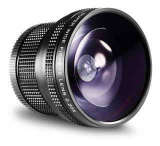 Lente Fisheye Neewer Super Wide Para Nikon Canon Y Pentax