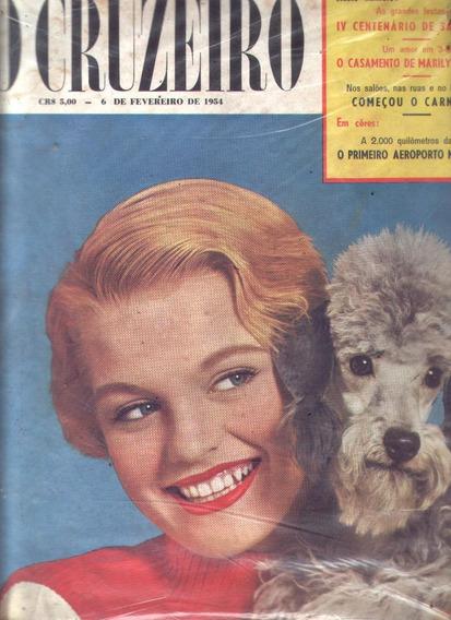 O Cruzeiro 1954.marilyn.flamengo Campeão.são Paulo.moda.crim