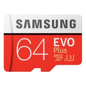 Cartao Samsung Micro Sdxc 100mb/s 4k 64gb Gopro Hero4 Hero5