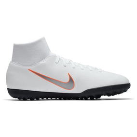Tênis Nike Mercurialx Superflyx 6 Society Tf Ah7372-107