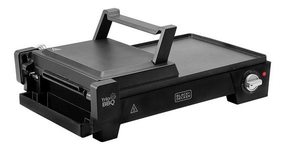 Grill Elétrico 3 Em 1 C/ Abertura 180º Black & Decker