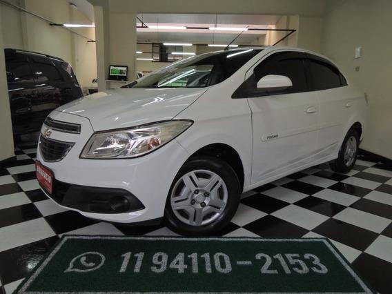 Chevrolet/ Prisma Lt1.0- Flex - Branca- Completo-2015