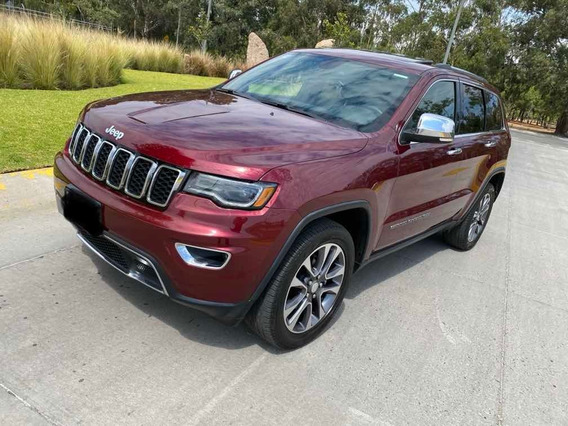 Jeep Grand Cherokee 3.6 Limited Lujo 4x4 Mt 2018