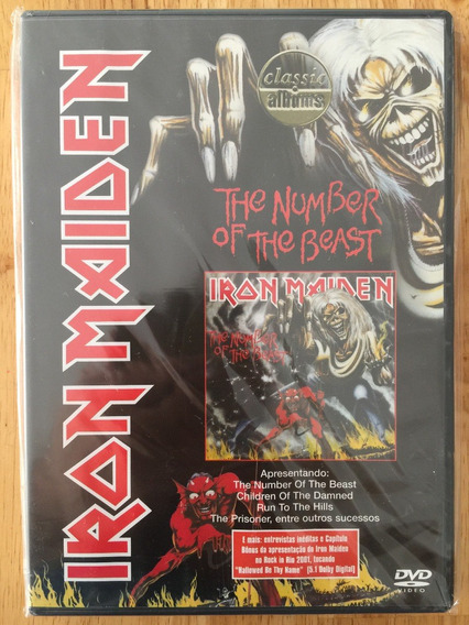 Dvd Iron Maiden The Number Of The Beast - Classic Albums