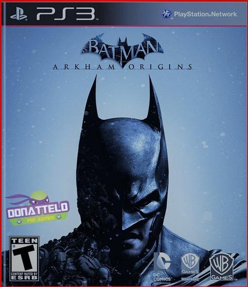 Batman Arkham Origins Ps3 Digital