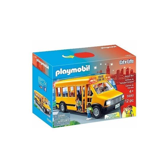 Playmobil City Life Ônibus Escolar - 5680