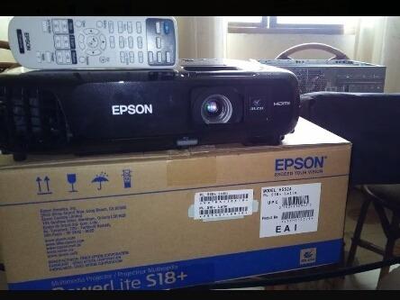 Vídeo Beam Epson Modelo: Powerlite S18+