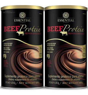 2x Beef Protein 480g - Essential Nutrition / Proteína Carne