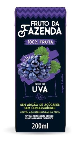 Imagem 1 de 1 de Suco De Uva 100% Tetra 200ml