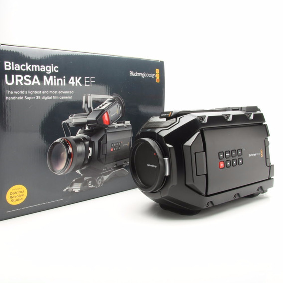 Filmadora Mini Ursa 4k - Blackmagic