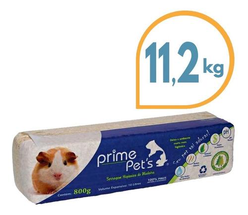 Imagen 1 de 2 de Viruta Sanitaria Para Conejos Y Pequeñas Mascotas 11.2 Kg