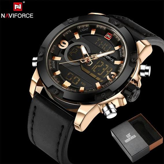 Relógio Militar Naviforce Original 9097