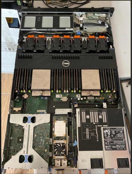 Servidor Dell Poweredge R620 Dual Octa Core 256ssd 128gb Ram