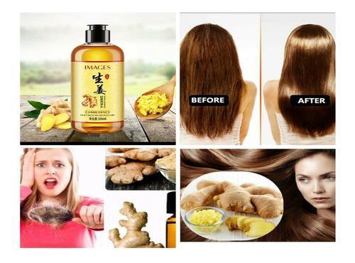 Imagen 1 de 1 de Shampoo Jengibre Anti Frizz ,caida  Crecimiento Cabello