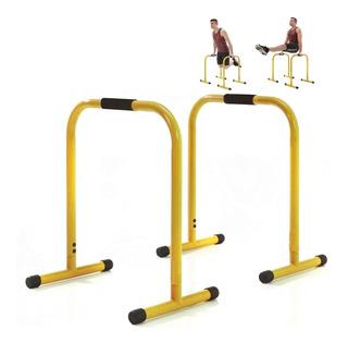 Par De Barras Paralelas P/ Fondos Crossfit Fitness - El Rey