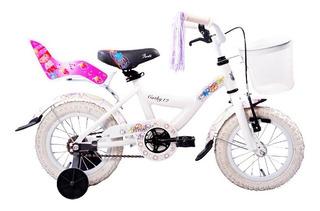 Bicicleta Peretti Cathy R12 C/canasto // Envío Gratis.