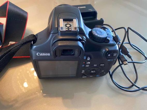 Câmera Digital Dslr Eos Rebel Canon T3 Usada