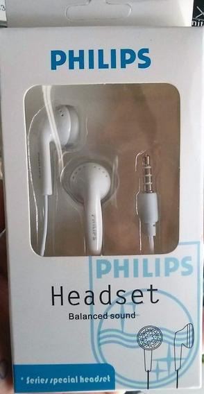 10 Fone De Ouvido Philips Celular Universal Atacado Barato