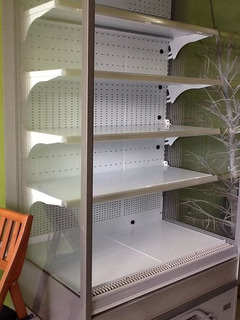 Refrigerador Tipo Vitrina Con Cortina Aire