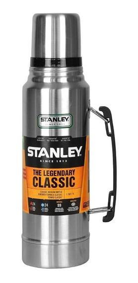 Garrafa Térmica Stanley Steel Inox 24hrs Quente / Frio 1l