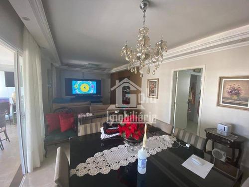 Apartamento Com 3 Dormitórios À Venda, 104 M² Por R$ 750.000 - Vila Do Golf - Ribeirão Preto/sp - Ap4168