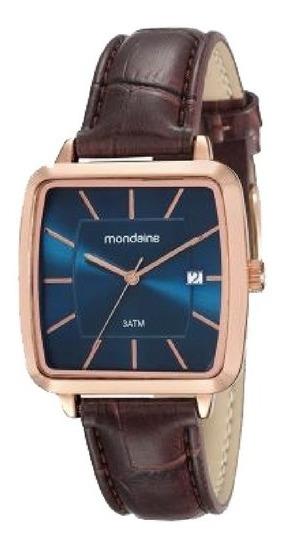 Relógio Feminino Mondaine Pulseira De Couro 53573gpmvr