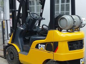 Montacargas Cat 1,500 Kilos A Gas Lp. Seminuevo Remate