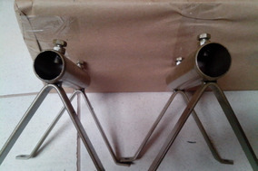 Pack 15pçs Suporte Cavalete 3/4 Net+fácil P/antenas Diversas