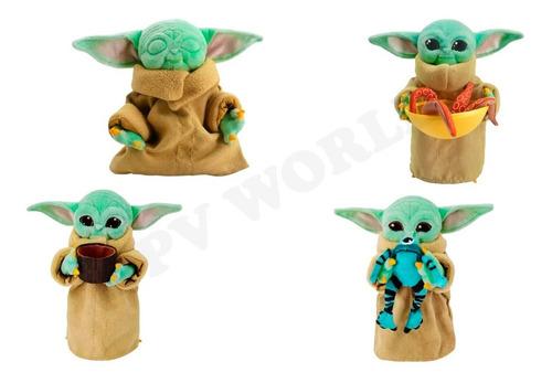 Peluche Baby Yoda Star Wars The Mandalorian Original Disney