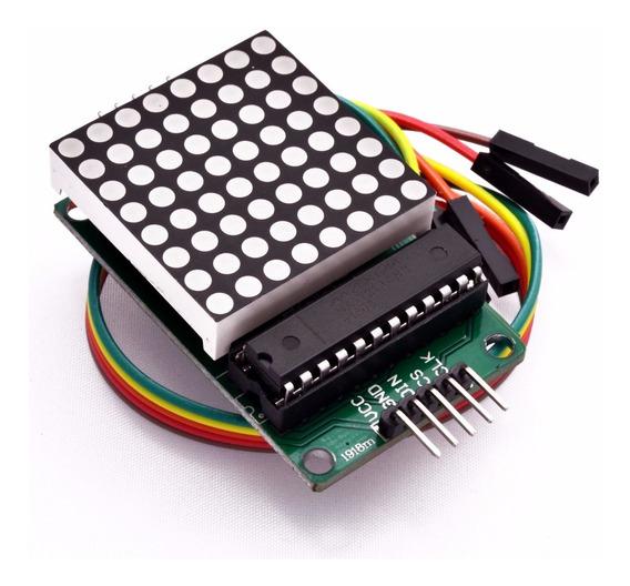 Módulo Matriz De Led 8x8 Max7219 Arduino
