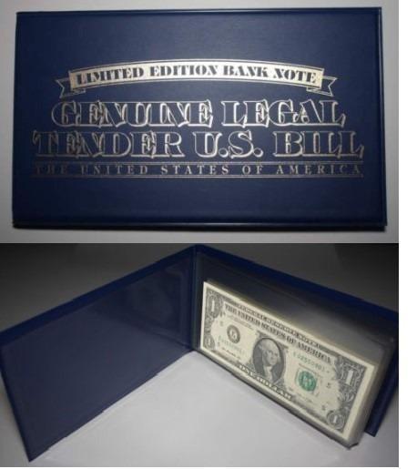 Box 10 Cédulas U$1 E U$2 Dollar - Edição Estados Americanos