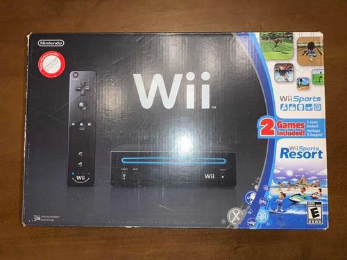 Vendo Nintendo Wii Original Completa Con Juegos!!
