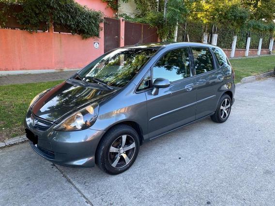Honda Fit Lx At Unico Dueño