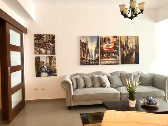 Apartamento Amueblado En Alquiler 3 Habitaciones Serralles
