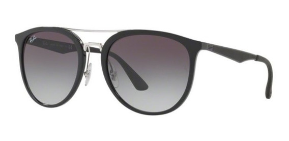 Oculos Sol Ray Ban Rb4285 601/8g 55mm Preto Lt Cinza Degradê