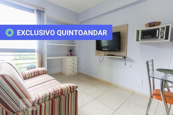 Studio No 5º Andar Mobiliado Com 1 Dormitório E 1 Garagem - Id: 892892727 - 192727