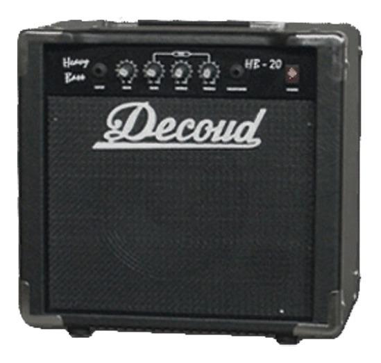 Amplificador De Bajo Decoud Hb-20 20 Watts Combo