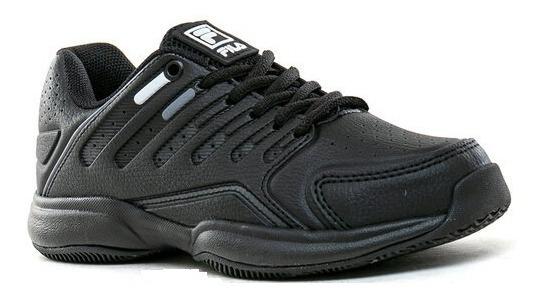 Zapatillas Fila Lugano 6.0 Mujer Negro 52t054x-2172 Lefran