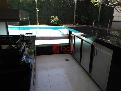 Imagem 1 de 11 de Casa Com 4 Dormitórios À Venda, 533 M² Por R$ 2.500.000,00 - Parque Residencial Damha Iv - São José Do Rio Preto/sp - Ca1614