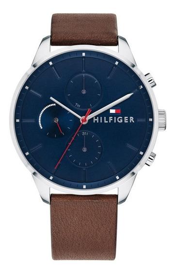 Reloj Tommy Hilfiger 1791487 Cuero Marrón Hombre