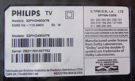 Teclado Com Sensor Remoto Philips 32phg4900/78