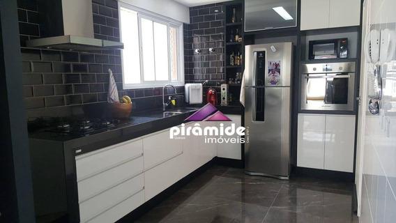 Apartamento Com 3 Dormitórios À Venda, 122 M² Por R$ 710.000 - Jardim Das Indústrias - São José Dos Campos/sp - Ap12206