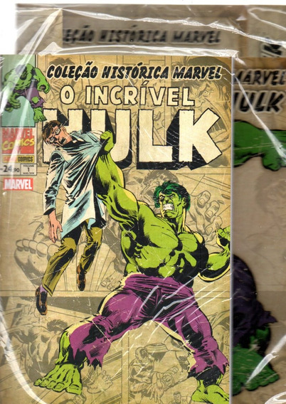 Colecao Historica O Incrivel Hulk 1 - Bonellihq Cx433 H18