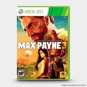 Max Payne 3 - Original Para Xbox 360 Novo
