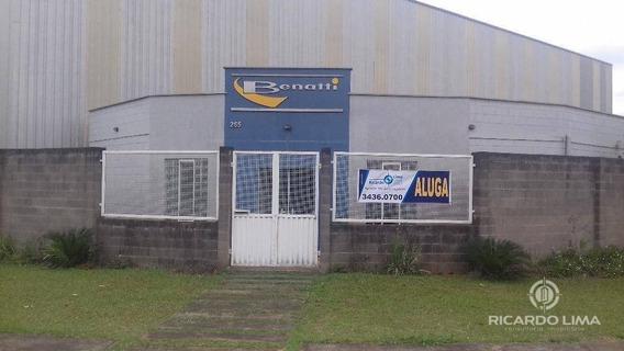 Galpão Industrial Para Locação, Uninorte, Piracicaba. - Ga0005
