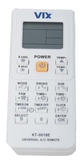 Controle Remoto Universal Para Ar Condicionado Vix 4000 Em 1